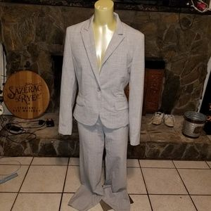 Gray Business Suit